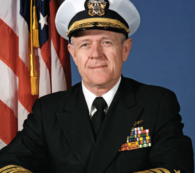 Vice Admiral Jerry O. Tuttle