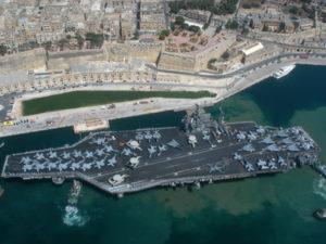 USS JFK Malta