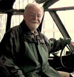 Bill Sheridan in the Spruce Goose