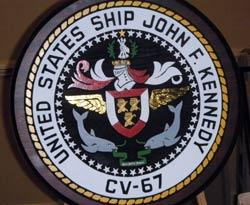 USS JFK Ship Crest